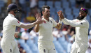 James Anderson claimed three wickets in his opening spell, West Indies v England, 3rd Test, St Lucia, 4th day, February 12, 2019