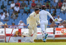 Jonny Bairstow completes the run-out of Shimron Hetmyer, West Indies v England, 3rd Test, St Lucia, 4th day, February 12, 2019