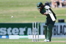 Liton Das is bowled after being beaten on the inside edge, New Zealand v Bangladesh, 1st ODI, Napier