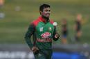 Sabbir Rahman goes back to his run up, New Zealand v Bangladesh, 1st ODI, Napier
