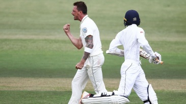 Dale Steyn is pumped up