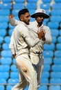 Dharmendrasinh Jadeja got among the wickets, Vidarbha v Rest of India, Irani Cup 2018-19, 2nd day, Nagpur, February 13, 2019