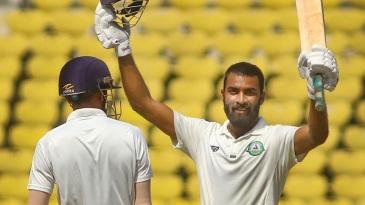 Akshay Karnewar scored a century