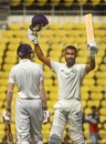 Akshay Karnewar scored a century, Vidarbha v Rest of India, Irani Cup 2018-19, 3rd day, Nagpur, February 13, 2019
