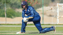 Calum MacLeod was busy with the sweep during his innings, Netherlands v Scotland, Oman Quadrangular T20I Series, Al Amerat, February 13, 2019