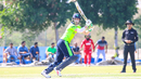 Andy Balbirnie cuts through point, Oman v Ireland, Oman Quadrangular T20I Series, Al Amerat, February 13, 2019