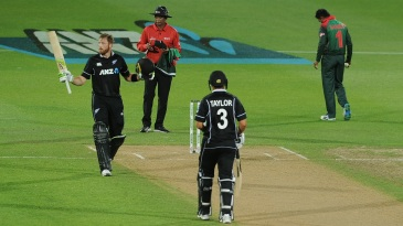 Martin Guptill starred in the successful chase