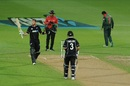 Martin Guptill starred in the successful chase, New Zealand v Bangladesh, 1st ODI, Napier, February 13, 2019