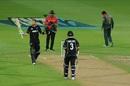 Martin Guptill starred in the successful chase, New Zealand v Bangladesh, 1st ODI, Napier, February 13, 2019