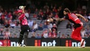 Picture perfect: Josh Philippe in his follow through after having carted the ball down the ground, Melbourne Renegades v Sydney Sixers, BBL 2019, semi-final, Melbourne, February 15, 2019