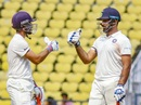 Ajinkya Rahane and Hanuma Vihari batted well together, Vidarbha v Rest of India, Irani Cup 2018-19, 4th day, Nagpur, February 15, 2019