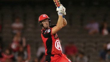 Cameron White muscles one over the boundary