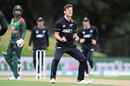 Matt Henry is pumped after getting a decision, New Zealand v Bangladesh, 2nd ODI, Christchurch, February 16, 2019