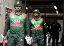 Bangladesh openers Tamim Iqbal and Liton Das walk out to bat, New Zealand v Bangladesh, 2nd ODI, Christchurch, February 16, 2019