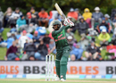 Mohammad Mithun carves one into the off side, New Zealand v Bangladesh, 2nd ODI, Christchurch, February 16, 2019