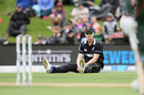 James Neesham reacts in the field, New Zealand v Bangladesh, 2nd ODI, Christchurch, February 16, 2019