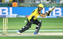 Kamran Akmal steers one towards third man, Peshawar Zalmi v Quetta Gladiators, PSL 2019, Dubai, February 15, 2019