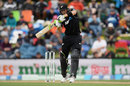 Martin Guptill slaps through the off side, New Zealand v Bangladesh, 2nd ODI, Christchurch, February 16, 2019
