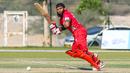 Khurram Nawaz flicks through the leg side, Oman v Netherlands, Oman Quadrangular T20I Series, Al Amerat, February 15, 2019
