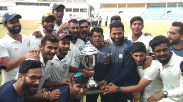 Vidarbha won the Irani Cup 2018-19 on the basis of a first-innings lead