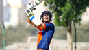 Tobias Visee hooks over backward square leg for six, Oman v Netherlands, Oman Quadrangular T20I Series, Al Amerat, February 15, 2019