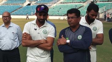 Faiz Fazal and Chandrakant Pandit - the brains behind Vidarbha's success