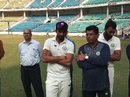 Faiz Fazal and Chandrakant Pandit - the brains behind Vidarbha's success, Vidarbha v Rest of India, Irani Cup 2018-19, 5th day, Nagpur, February 16, 2019