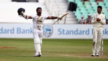 Kusal Perera showed guts in tough conditions