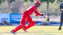 Aamir Kaleem scampers a quick run into the leg side, Oman v Ireland, Oman Quadrangular T20I Series, Al Amerat, February 13, 2019