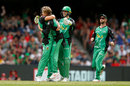 Adam Zampa made inroads, Melbourne Renegades v Melbourne Stars, Final, BBL 2018-19, Melbourne, 17 February, 2019