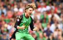 Adam Zampa celebrates, Melbourne Renegades v Melbourne Stars, Final, BBL 2018-19, Melbourne, 17 February, 2019