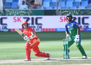 Luke Ronchi takes the aerial route on the leg side, Islamabad United v Multan Sultans, PSL 2019, Dubai, February 16, 2019