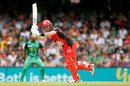 Dan Christian plays through the leg side, Melbourne Renegades v Melbourne Stars, Final, BBL 2018-19, Melbourne, 17 February, 2019