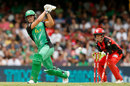 Marcus Stoinis was bowled by Adam Zampa, Melbourne Renegades v Melbourne Stars, Final, BBL 2018-19, Melbourne, 17 February, 2019