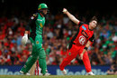 Cameron Boyce again fought back from an expensive start, Melbourne Renegades v Melbourne Stars, Final, BBL 2018-19, Melbourne, 17 February, 2019