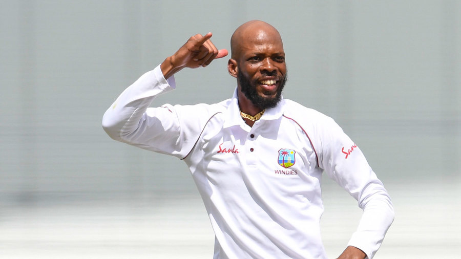 Roston Chase's 8 for 60 in Bridgetown against England were his career-best bowling figures