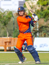 Max O'Dowd pulls over midwicket, Ireland v Netherlands, Oman Quadrangular T20I Series, Al Amerat, February 17, 2019
