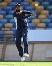 Adil Rashid during an England nets session, Barbados, February 16, 2019