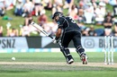 Ross Taylor takes off for a run, New Zealand v Bangladesh, 3rd ODI, Dunedin, February 20, 2019