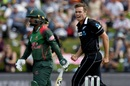 Tim Southee exults after taking a wicket, New Zealand v Bangladesh, 3rd ODI, Dunedin, February 20, 2019