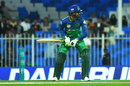 Shoaib Malik in his batting stance, Multan Sultans v Quetta Gladiators, PSL 2019, Sharjah, 20 February, 2019