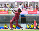 Chris Gayle drills another six in his boundary-laden century, West Indies v England, 1st ODI, Barbados, February 20, 2019