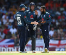 Adil Rashid claimed late wickets, West Indies v England, 1st ODI, Barbados, February 20, 2019