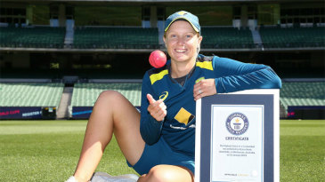 Alyssa Healy after her world record