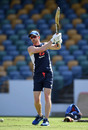 Paul Collingwood oversees a training drill, Barbados, February 16, 2019