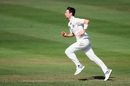 Matt Henry runs in to bowl, Canterbury v Central Districts, Plunket Shield 2018-19, 2nd day, Rangiora, February 22, 2019