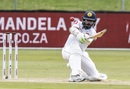 Niroshan Dickwella plays a lap shot, South Africa v Sri Lanka, 2nd Test, Port Elizabeth, 2nd day, February 22, 2019
