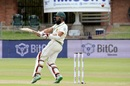 Hashim Amla miscues a pull shot, South Africa v Sri Lanka, 2nd Test, Port Elizabeth, 2nd day, February 22, 2019