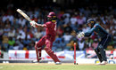 Chris Gayle cuts through point, West Indies v England, 2nd ODI, Barbados, February 22, 2019