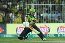 AB de Villiers shapes for the reverse scoop, Multan Sultans v Lahore Qalandars, PSL 2019, Sharjah, February 22, 2019
